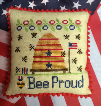 Bee Proud - Cross Stitch Pattern