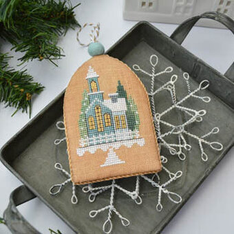 Christmas Eve (White Christmas 6) - Cross Stitch Pattern