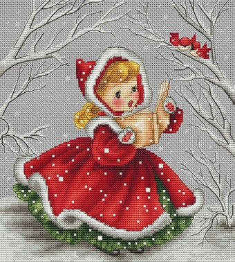Chanson de Noel - Cross Stitch Pattern