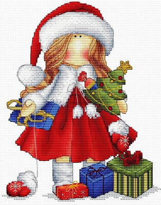 Bientot Noel - Cross Stitch Pattern