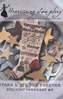 Stars & Stripes Forever Stocking Ornament 3