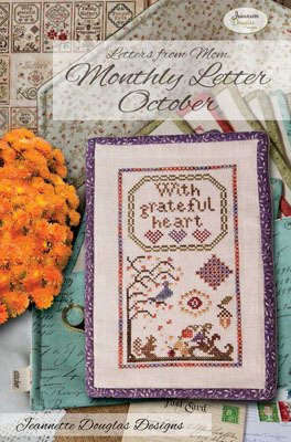 Letters From Mom 3 October - Cross Stitch Pattern