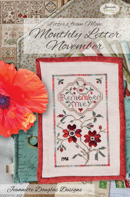 Letters From Mom 4  - November - Cross Stitch Pattern