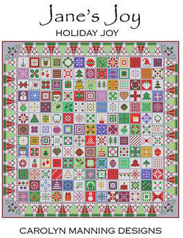 Holiday Joy - Christmas Cross Stitch Pattern