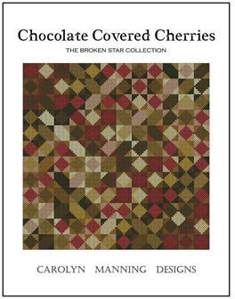 Chocolate Covered Cherries - Cross Stitch Pattern