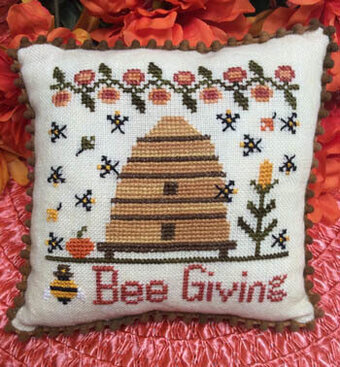 Bee Giving - Cross Stitch Pattern