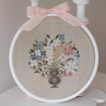 Joli Bouquet - Cross Stitch Pattern