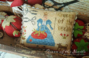 Queen of the Needle - Cross Stitch Pattern