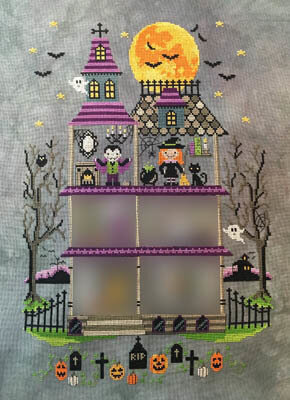 Haunted Mansion Part 3 - Cross Stitch Pattern