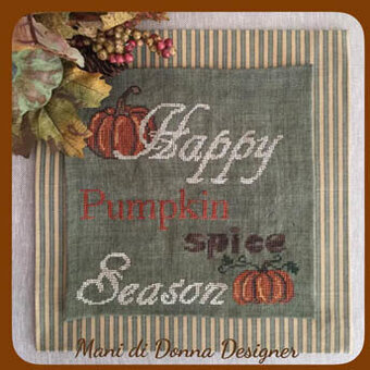 Pumpkin Spice Season - Cross Stitch Pattern