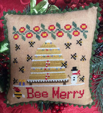 Bee Merry - Cross Stitch Pattern