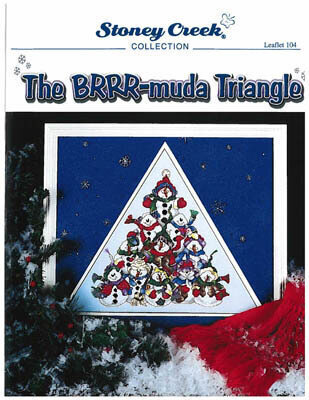 Brrr-muda Triangle - Cross Stitch Pattern