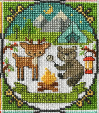 Year of Animal Fun & Frolics - August - Cross Stitch Pattern