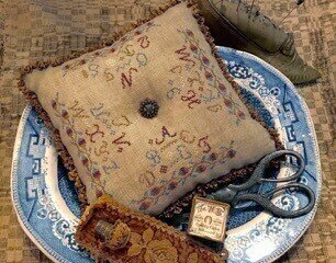 Alphabet Pillow - Cross Stitch Pattern