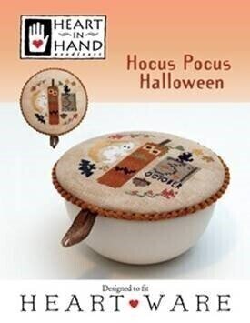 Hocus Pocus Halloween - Cross Stitch Pattern