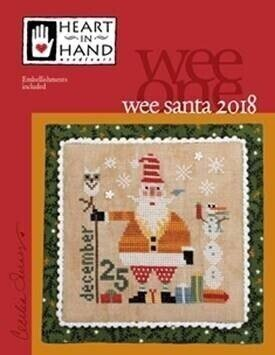 Santa 2018 - Wee One - Cross Stitch Pattern