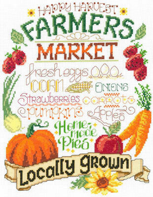 Farm Fresh - Cross Stitch Pattern