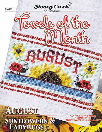 Towels of the Month - August - Cross Stitch Pattern