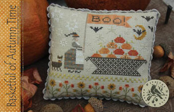 Basketful of Autumn Time - Cross Stitch Pattern