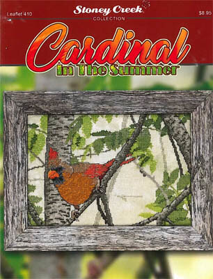 Cardinal in the Summer - Cross Stitch Pattern