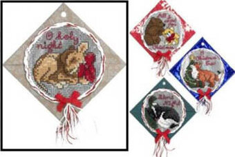 Woodland Christmas - Cross Stitch Pattern