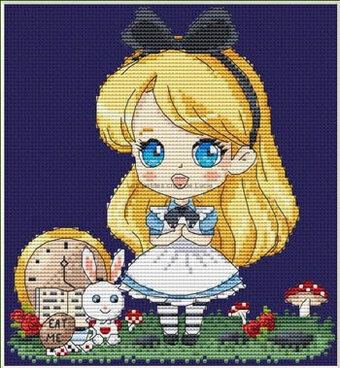 Les Petites Croix De Lucie Alice - Cross Stitch Pattern - 123Stitch com