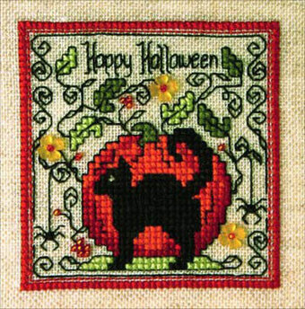 Blackie & Punkin - Cross Stitch Pattern