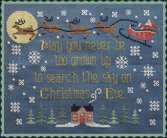 Search the Sky - Cross Stitch Pattern