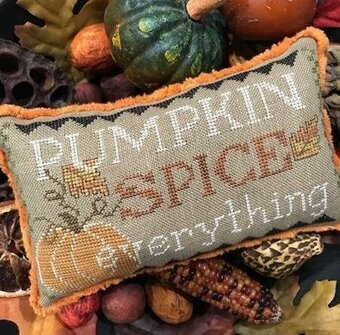 Pumpkin Spice Everything - Cross Stitch Pattern