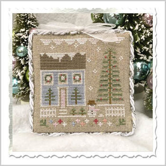 Glitter House One - Cross Stitch Pattern
