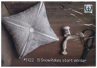 11 Snowflakes Start Winter - Cross Stitch Pattern