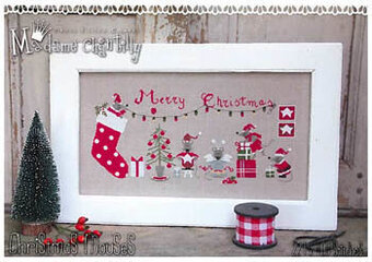 Christmas Mouses - Cross Stitch Pattern