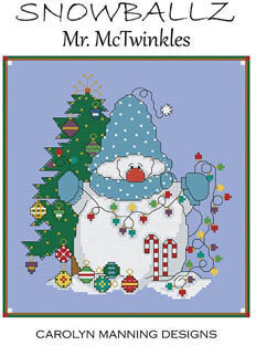 Mr McTwinkles - Snowballz - Cross Stitch Pattern