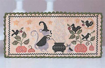 Le Chaudron Magique - Cross Stitch Pattern