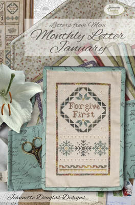 Letters From Mom 6 - January - Cross Stitch Pattern