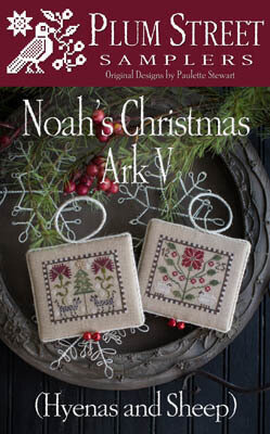 Noah's Christmas Ark V - Hyenas and Sheep