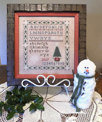 Tis the Season Sampler - Cross Stitch Pattern