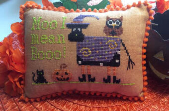 Moo, I Mean Boo - Cross Stitch Pattern