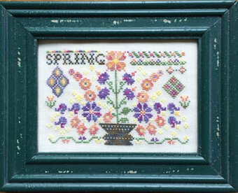 Spring (with threads) - Cross Stitch Pattern