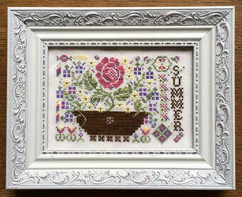 Summer (with threads) - Cross Stitch Pattern