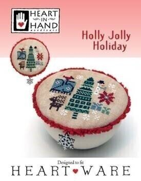 Holly Jolly Holiday - Cross Stitch Pattern