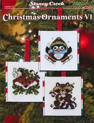 Christmas Ornaments VI - Cross Stitch Pattern
