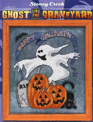 Ghost in the Graveyard - Cross Stitch Pattern