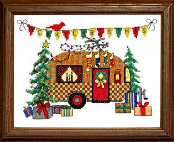 Christmas Camper - Cross Stitch Pattern