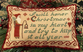 I Will Honor Christmas - Cross Stitch Pattern