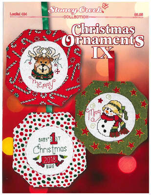Christmas Ornaments IX - Cross Stitch Pattern