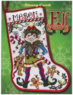 Elf Stocking - Cross Stitch Pattern