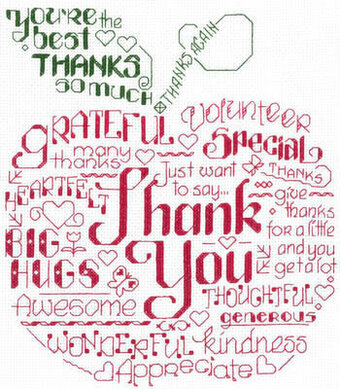 Let's Thank Someone - Cross Stitch Pattern