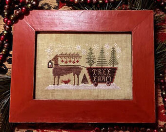Delivering the Trees - Cross Stitch Pattern