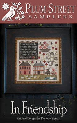 In Friendship - Cross Stitch Pattern